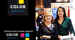 Color Plus Maribel y Vanesa en Expofranquicia 27-4-16