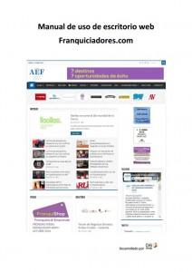 Manual AEF Entradas