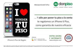 Donpiso renueva la campa a de regalo de un iphone 6 plus for Don piso oficinas
