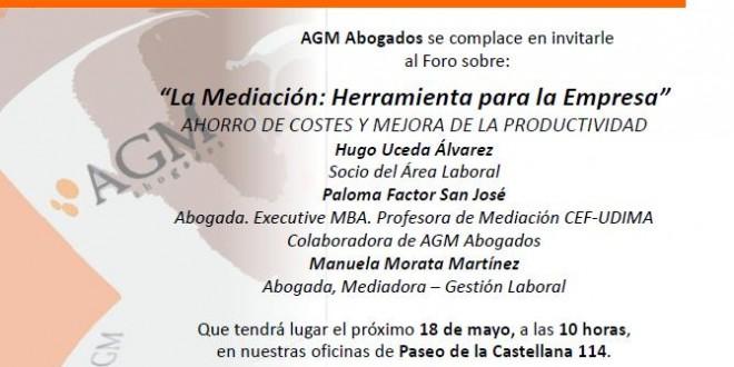 Café Sobre Mediación Laboral - 18 De Mayo, Madrid