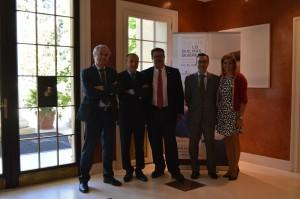 Firma del  acuerdo de colaboración entre Preventiva Seguros y Look & Find, 1ª Red Inmobiliaria