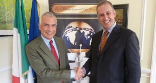 Embajador de Italia Stefano Sannino Andrea Lazzari Presidente España BFW