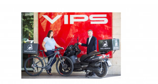 Grupo Vips inaugura servicio a domicilio gracias a un acuerdo con Deliveroo