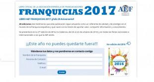 20ª Edición de Libro Franquicias 2017