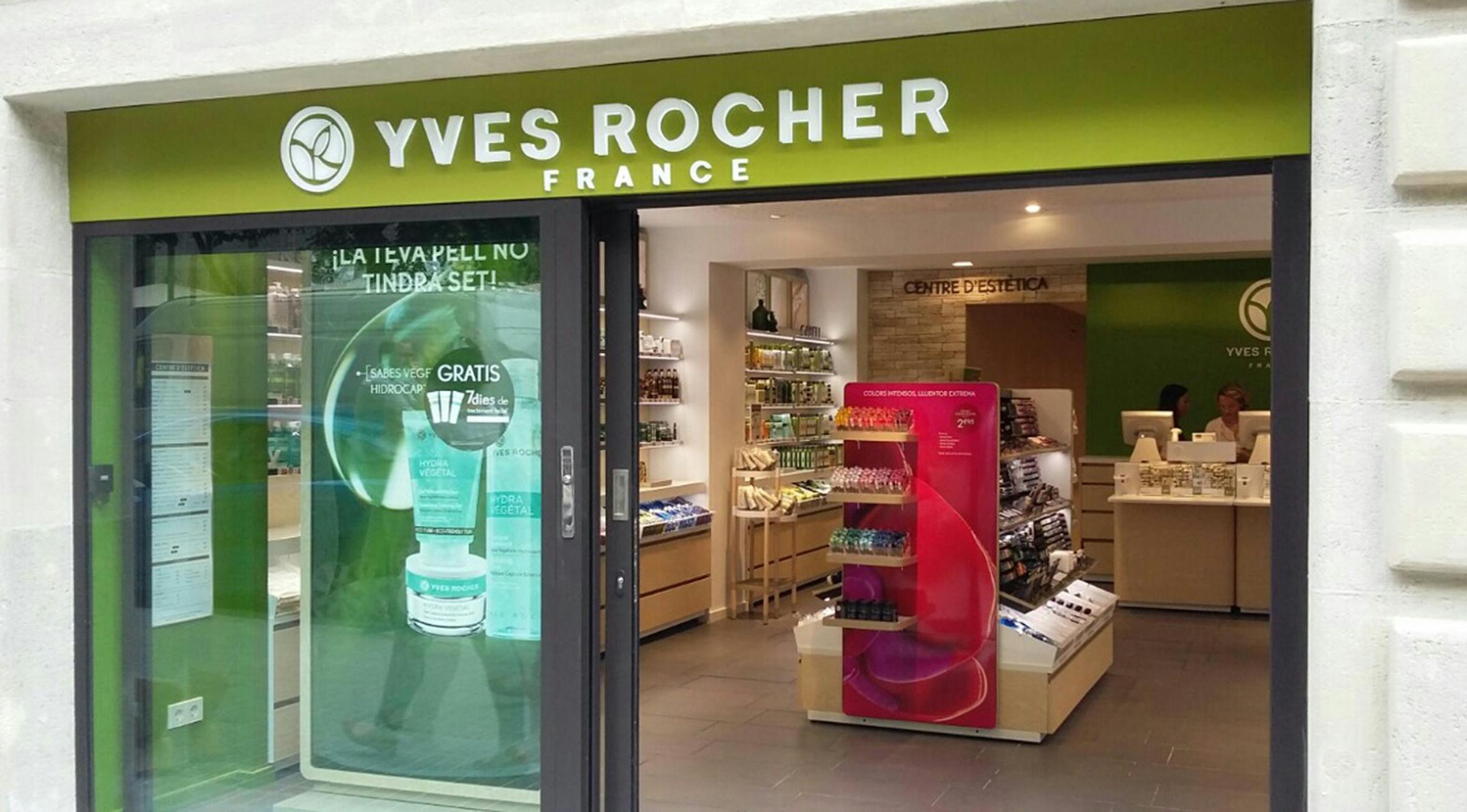 Cabina Estetica Yves Rocher : Yves rocher elige barcelona para abrir su primer atelier lab en