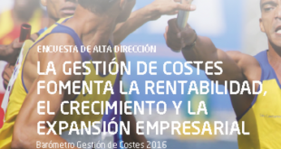 Barómetro de Gestión de Costes – Edición 2016