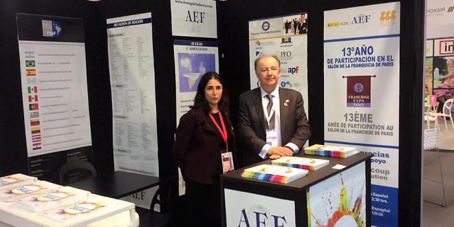 La AEF acude al Salón de la Franquicia de París