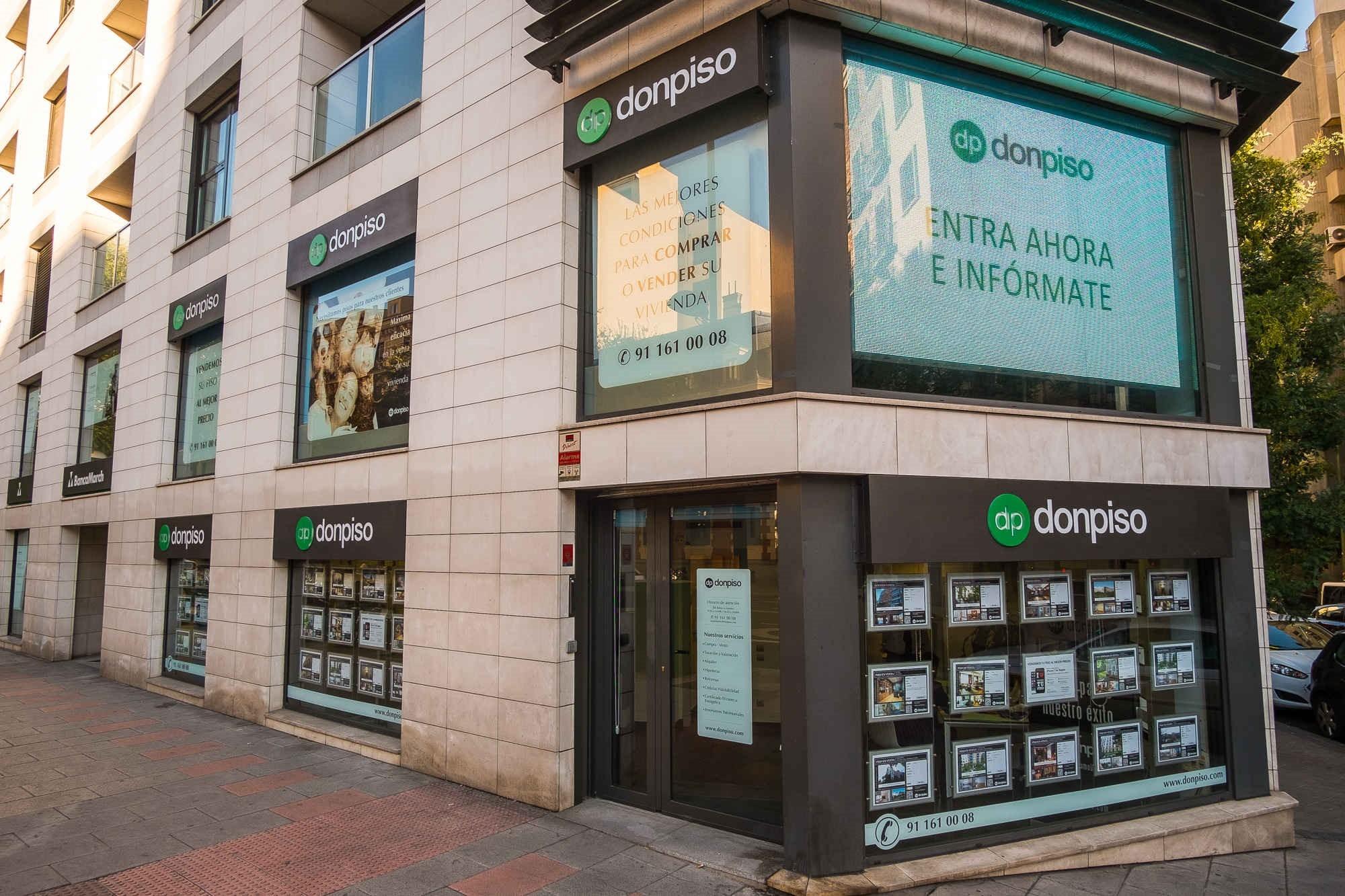 Donpiso llega a las 80 oficinas en toda espa a con dos for Convenio oficinas madrid