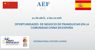 Cabecera EXPOFRANQUICIA 2017- Invitación Desayuno Presentación: Oportunidades de Negocio de Franquicias en la Comunidad China en España