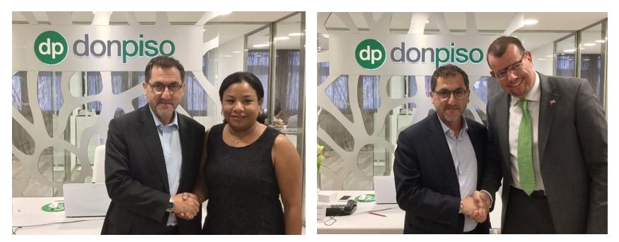 Donpiso llega a las 90 oficinas con nuevas franquicias en for Oficinas don piso barcelona
