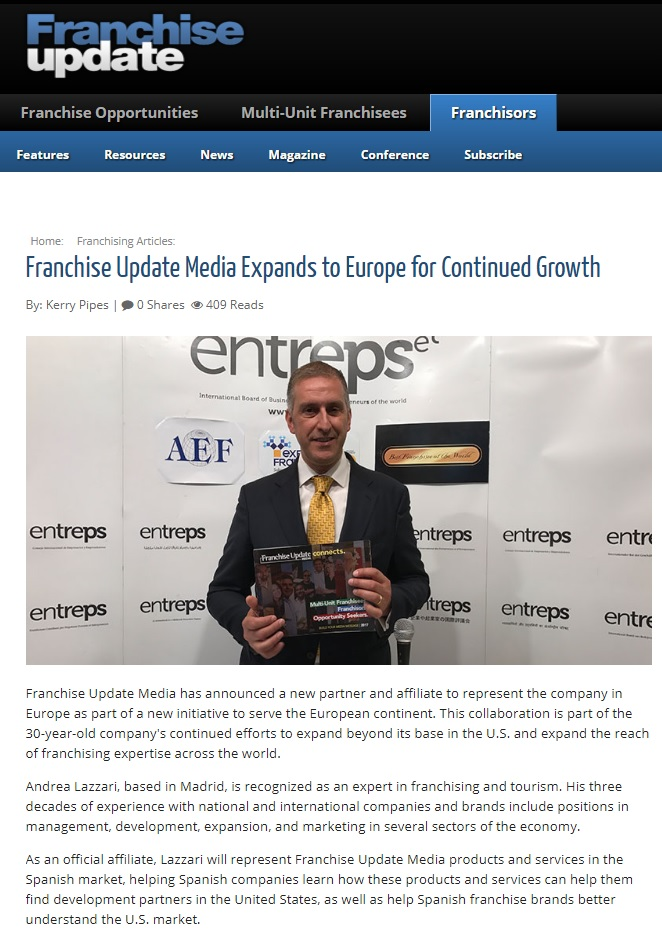Franchise Update Media Andrea Lazzari