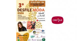 CARTEL- DESFILE BENÉFICO carmila carrefour 25-10-17
