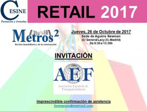 Invitación AEF Retail 2017