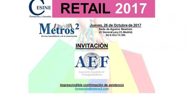 Invitación AEF Retail 2017 web