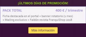 Promo portal franquicias Franquishop