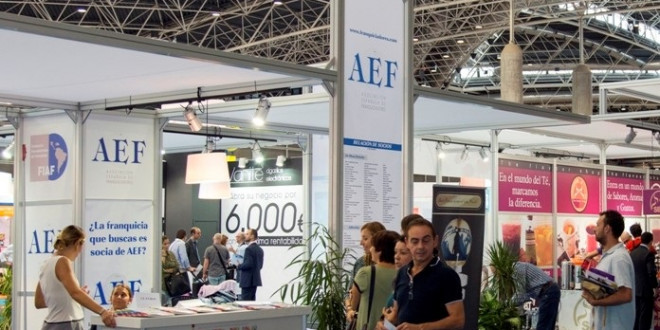 stand de la AEF en el SIF de Valencia 10-10-17