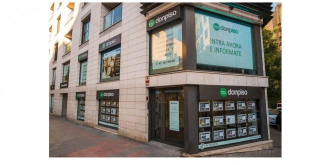Donpiso llega a las 100 oficinas operativas en espa a for Convenio oficinas madrid 2017