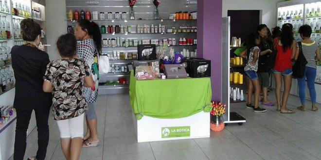 la botica Tienda en Nueva Caledonia 20-11-17