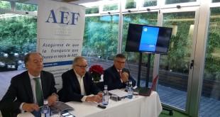 Imagen rueda de prensa AEF jurisprudencia