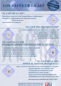 Los Cafés de la AEF