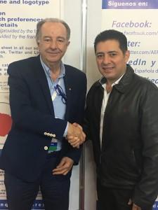 México - Mario Antonio Morales Alfredo Pedroche - Presidente de la Asociación de Bolivia