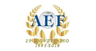 Logo 25 años - AEF 25-4-18