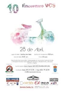 NDP -El Centro Comercial Carrefour San Pablo punto de encuentro para los amantes de las icónicas Vespa 26-4-18 2