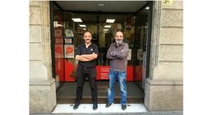 Xavier Castillo y Alex Bañón - Franquiciados MBE mail boxes
