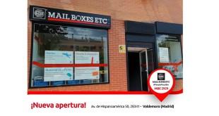 Tienda MBE Valdemoro 25-5-18