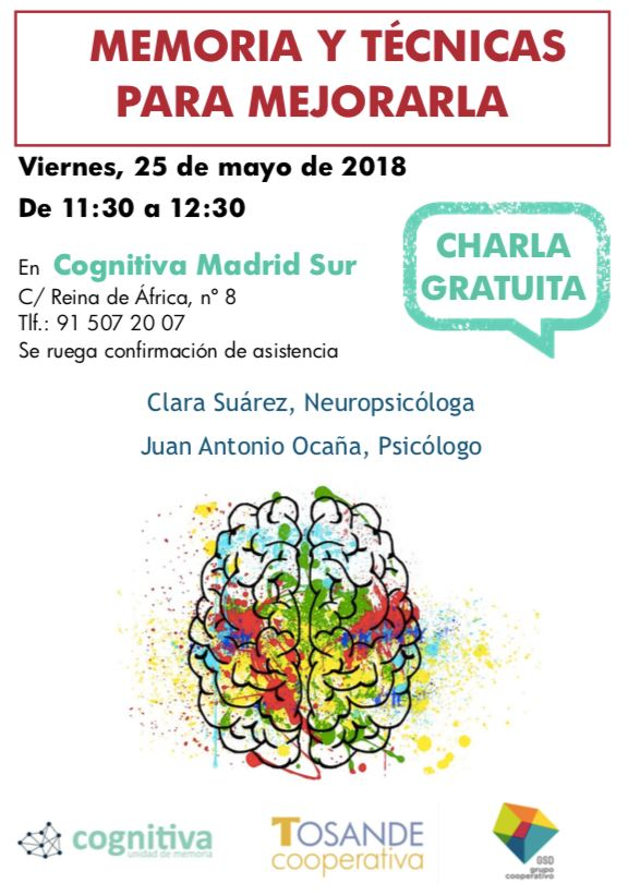 cognitiva charla memoria 18-5-18