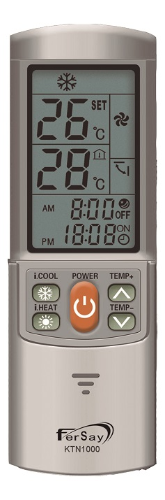 Mando Aire acondicionado E-KTN1000 fersay 6-6-18 1
