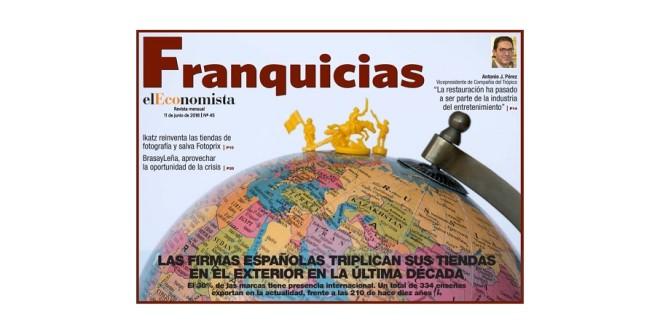 Portada junio eleconomista franquicias web