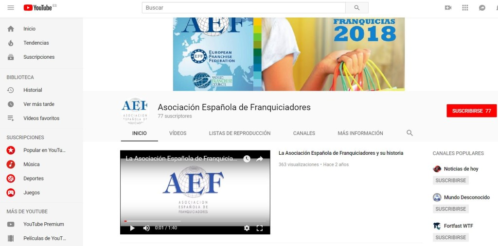 AEF youtube 11-7-18