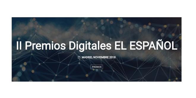 Cabecera web el Español premios