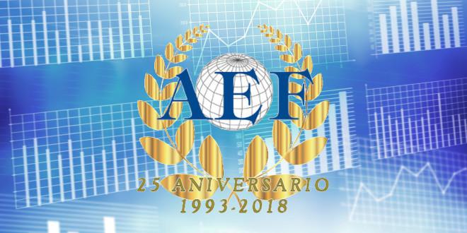 Estadísticas logo AEF 25 años