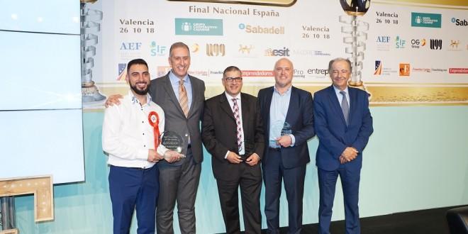BFW 2018 Finalistas con Andrea Lazzari y Eduardo Abadia 29-10-18