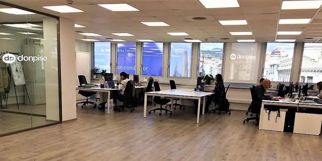 oficinas centrales de donpiso en la Avenida Diagonal de Barcelona 29-10-18
