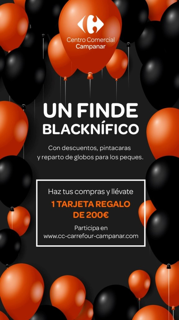 Centros Comerciales Carmila Black Friday 21-11-18