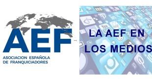 Cabecera web AEF en los medios