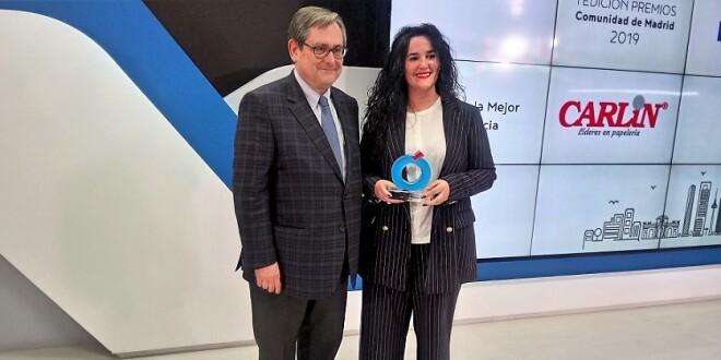 Carlin premio a la Mejor Franquicia de la Comunidad de Madrid 14-2-19
