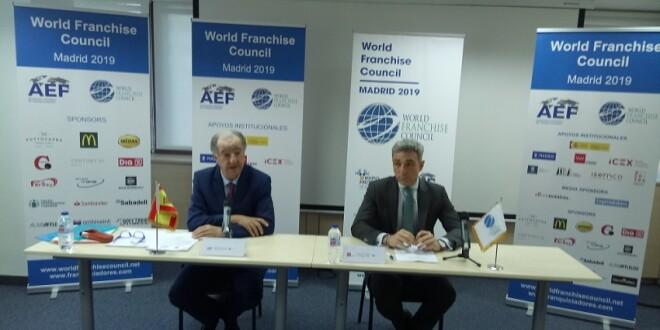 Imagen rueda de prensa presentación dle Consejo Mundial de Franquicias 12-2-19