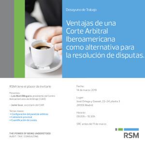 Desayuno RSM Madrid 14-3-19 - Invitación