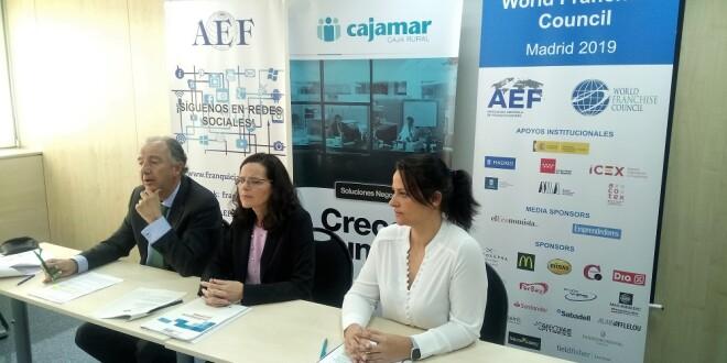 Imagen 2 rueda de prensa AEF-Cajamar La Franquicia en España 2019