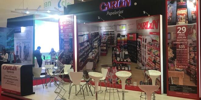 Imagen stand de Carlin en la Feria de México 2018 4-3-19
