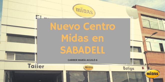 Nuevo Centro Midas en SABADELL 23-4-19
