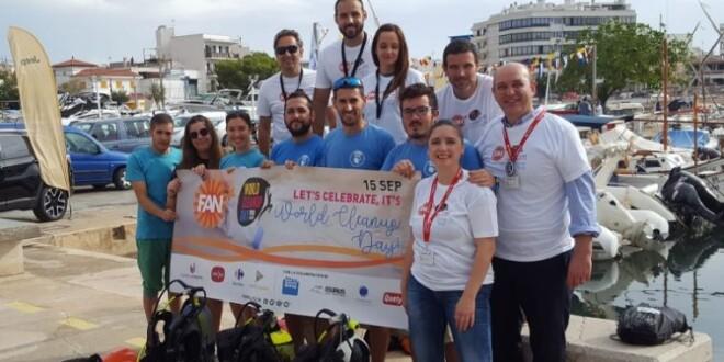 Fan Mallorca Shopping World Clean Up Day carmila 20-6-19