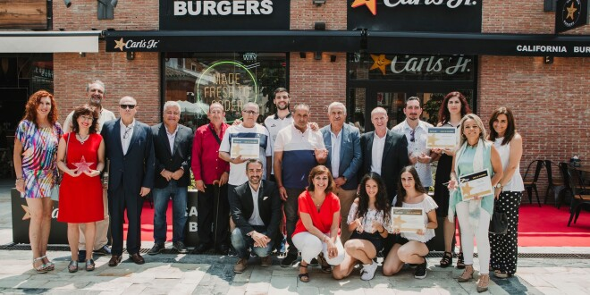 PREMIADOS ESTRELLAS CHURRIANA 2019 carls jr 4-7-19