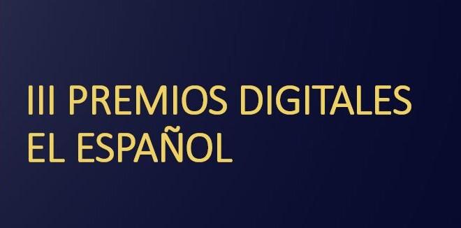 III PREMIOS DIGITALES el español cabecera