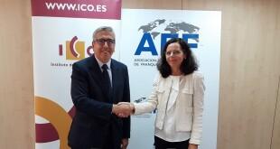 Firma del acuerdo entre ICO y AEF 14-10-19