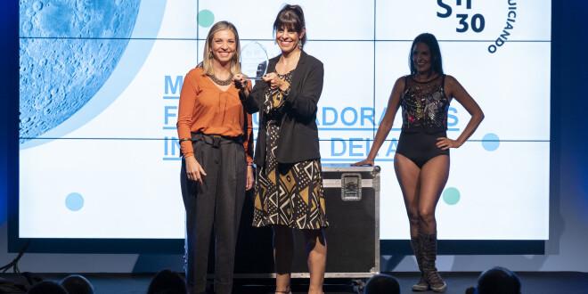 La Noche de las Franquicias premio virgina donado 18-10-19